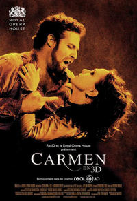 Carmen 3D - Royal Opera House