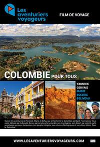 Les aventuriers voyageurs - Gagnez un laissez-passer double pour assister au film Colombie à Montréal