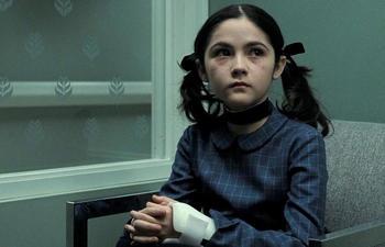 Un antépisode du film d'horreur Orphan en tournage