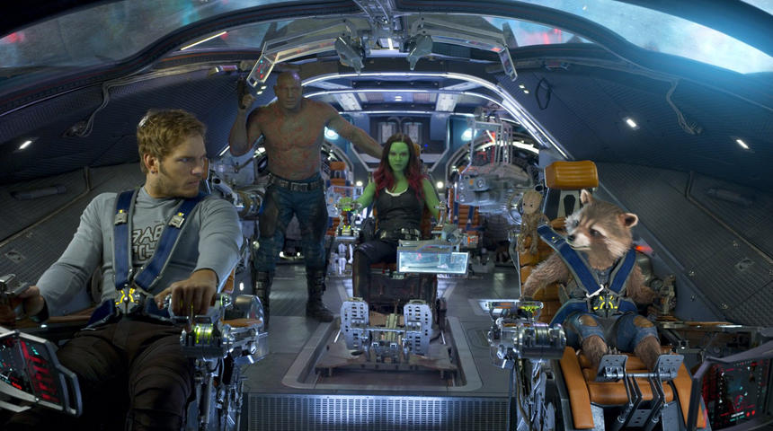 Sorties Blu-Ray et DVD : Guardians of the Galaxy Vol. 2