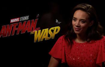 Entrevue vidéo : L'interprète de Ghost nous parle de son personnage dans Ant-Man et la Guêpe