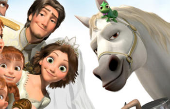 Le court métrage Tangled Ever After sera présenté avant Beauty and the Beast 3D