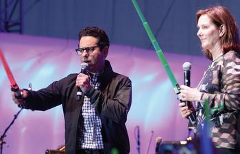 Galerie de photos du panel de Star Wars: The Force Awakens au Comic-Con 2015