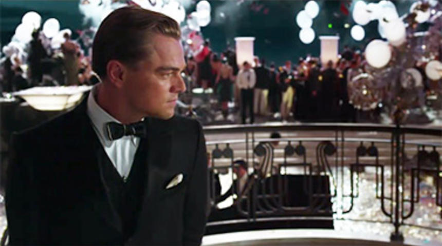 La sortie du film The Great Gatsby repoussée