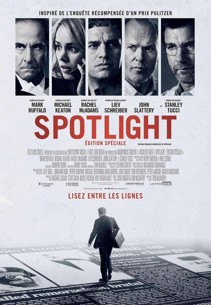 SPOTLIGHT : ÉDITION SPÉCIALE (2015) - Film - Cinoche.com