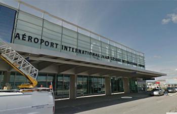 Tournage à l'aéroport Jean-Lesage aujourd'hui et demain