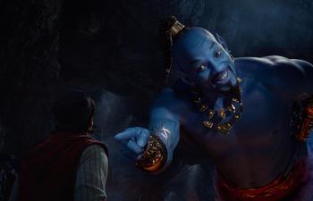 Une publicité dévoile Will Smith dans la peau du génie dans Aladdin