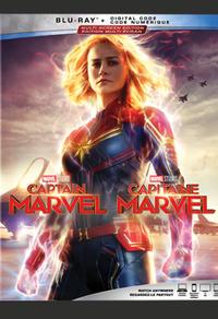 Combo Blu-Ray + DVD + copie numérique du film Capitaine Marvel