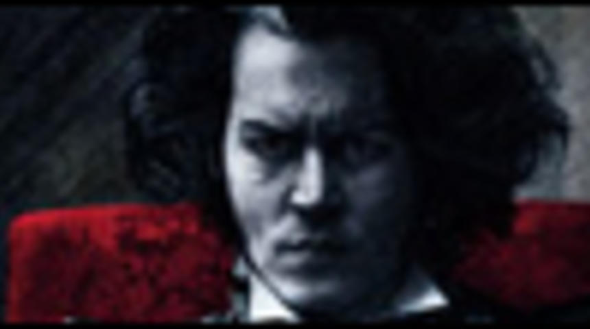 Affiche officielle de Sweeney Todd de Tim Burton