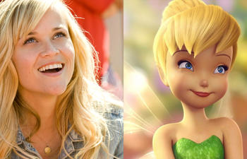 Reese Witherspoon sera la fée Clochette dans Tink