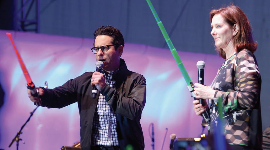 Galerie de photos du panel de Star Wars: The Force Awakens au Comic-Con 2015