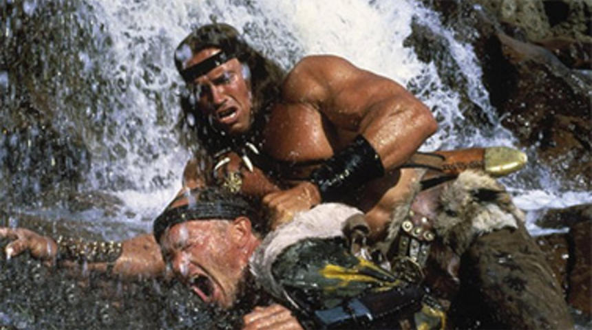 Arnold Schwarzenegger dans The Legend of Conan