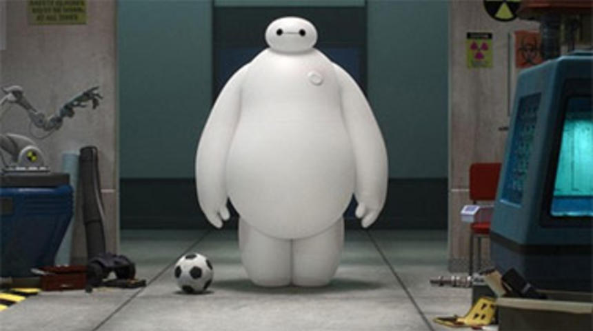 Bande-annonce du film d'animation Big Hero 6