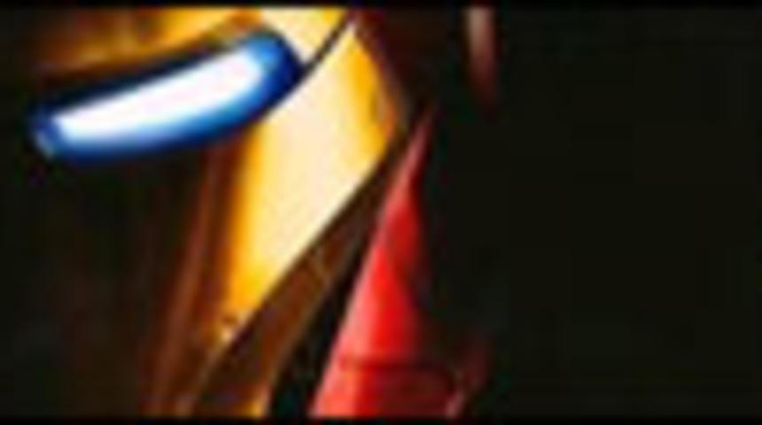 Affiche officielle de Iron Man