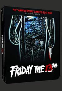 Combo Blu-Ray + copie numérique du film Friday the 13th édition 40e anniversaire