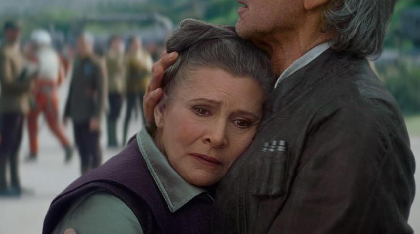 La star Carrie Fisher s'éteint le 27 décembre 2016