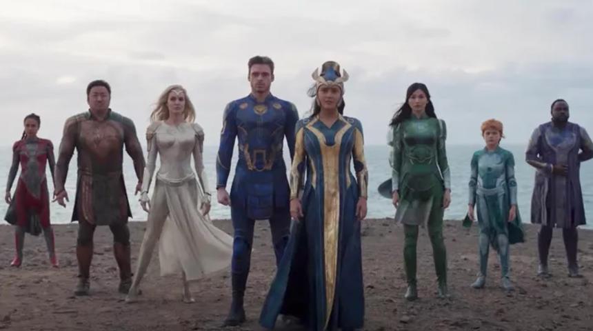 Bande-annonce : Rencontrez les Éternels de Marvel