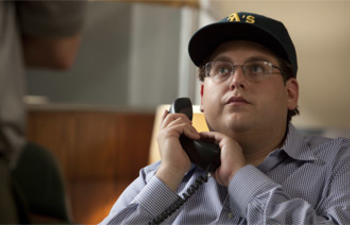 Jonah Hill et James Franco dans True Story