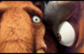 Première affiche officielle de Ice Age : Dawn of the Dinosaurs