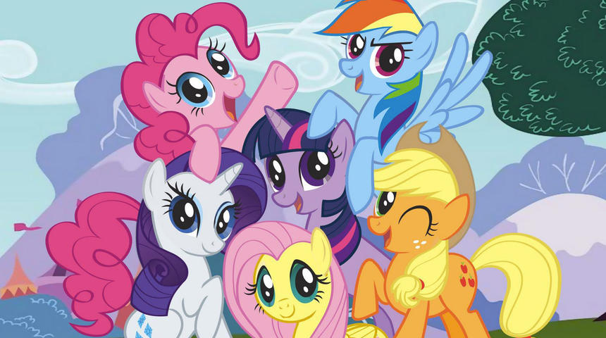 Le film My Little Pony en chantier