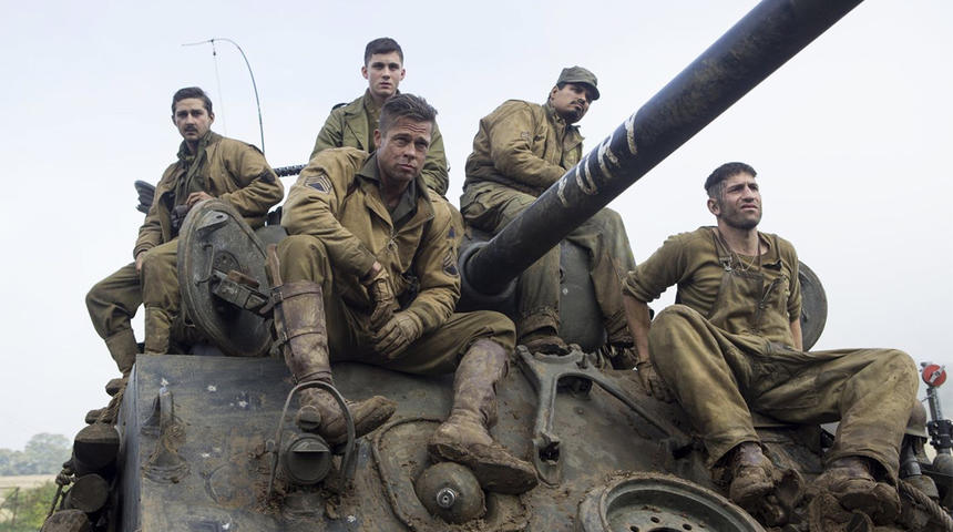 Box-office nord-américain : Fury occupe le premier rang ce week-end
