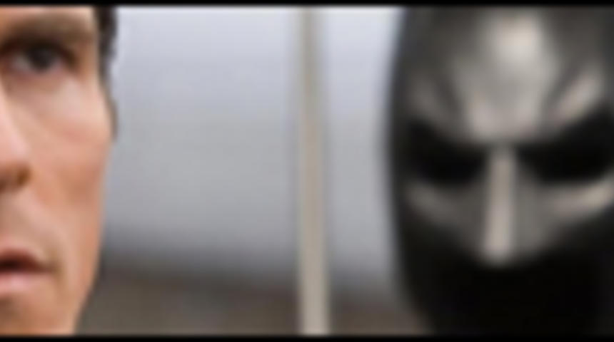 Le chevalier noir présenté sur écran IMAX