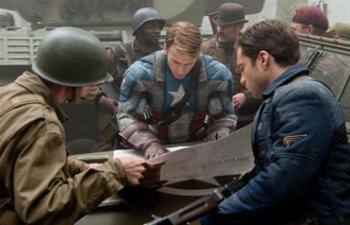 Visionnement spécial de Captain America: The First Avenger jeudi à minuit