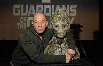 Vin Diesel sera aussi Groot dans la version française de Guardians of the Galaxy