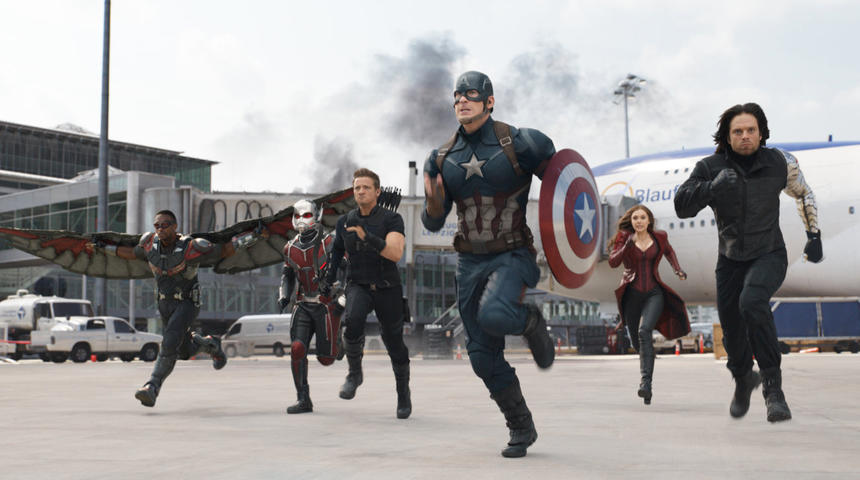 Sorties DVD : Captain America: Civil War
